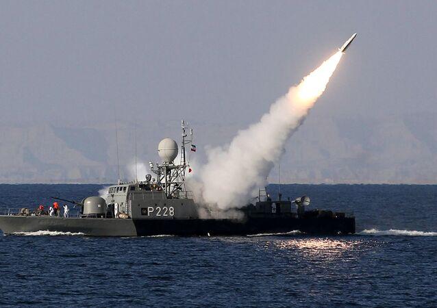 La marina iraniana