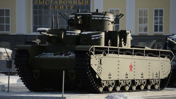 Il carro armato T-35 - Sputnik Italia