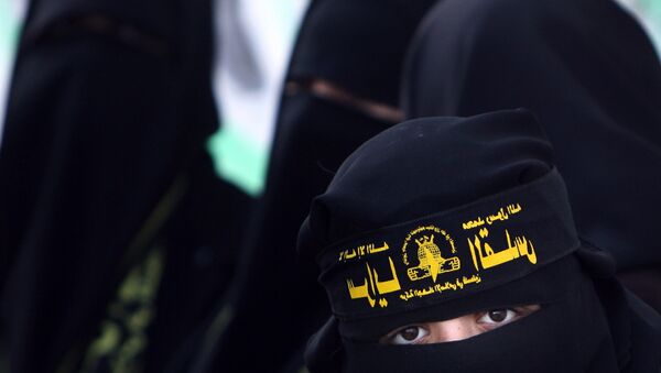 Female supporters of Islamic jihad - Sputnik Italia