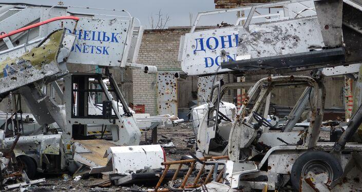 Situazione all'aeroporto di Donetsk