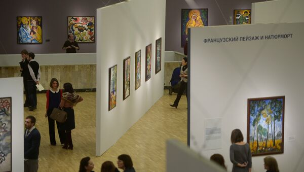 Visitors at the State Tretyakov Gallery, Moscow - Sputnik Italia