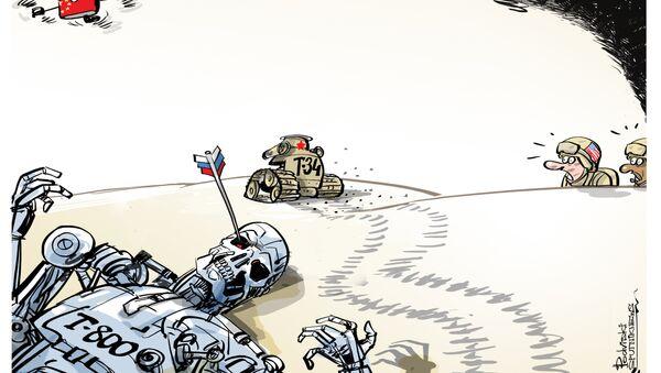 Media Usa spaventati dai robot russi e cinesi - Sputnik Italia