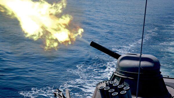 Pacific Fleet holds training exercise for missile boats - Sputnik Italia