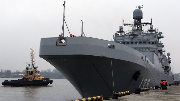 Grande nave anfibia Ivan Gren - Sputnik Italia