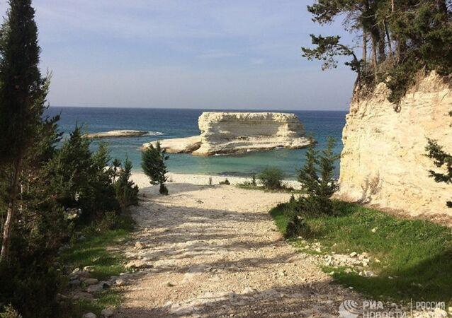 La costa mediterranea della Latakia