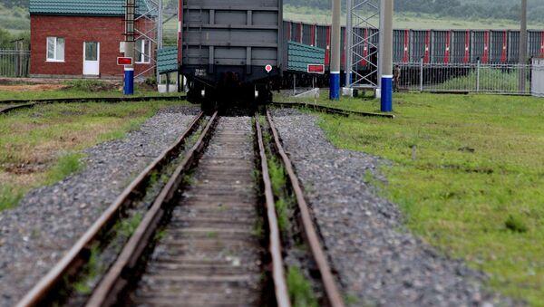 Un treno - Sputnik Italia