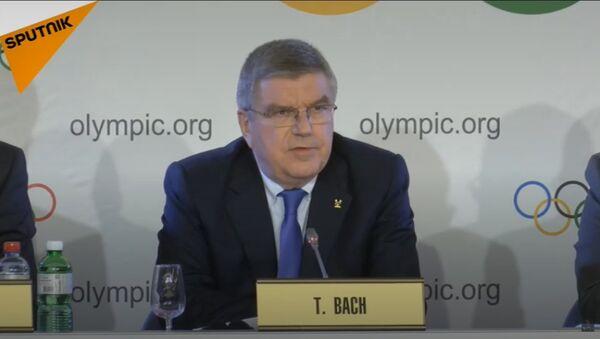 La decisione finale del CIO sulla partecipazione della squadra russa alle Olimpiadi-2018. - Sputnik Italia