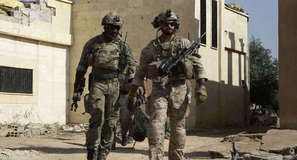 Forze speciali americane in Siria (foto d'archivio)