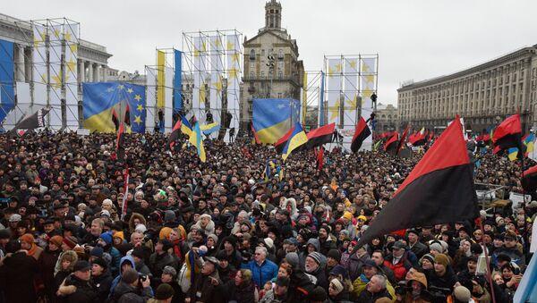 Manifestazione dei sostenitori di Saakashvili sulla legge per l'impeachment - Sputnik Italia