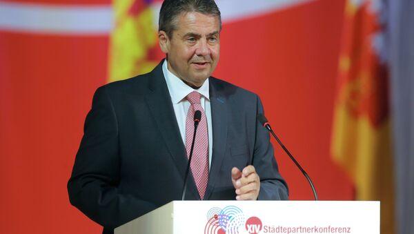 Il ministro degli Esteri della Germania Sigmar Gabriel - Sputnik Italia