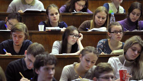 Studenti dell'Università di Mosca - Sputnik Italia