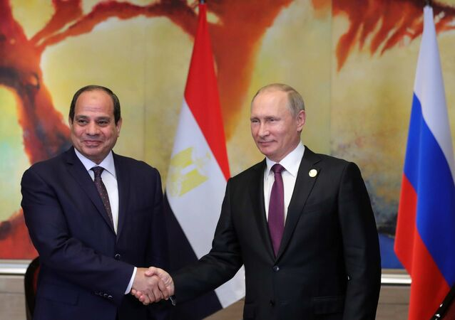 Vladimir Putin ed Abdel Fattah al-Sisi