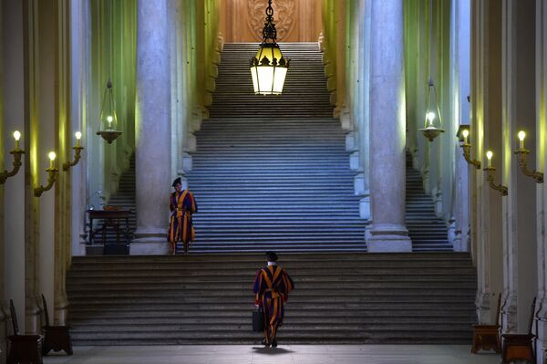 Guardie Svizzere al Vaticano - Sputnik Italia