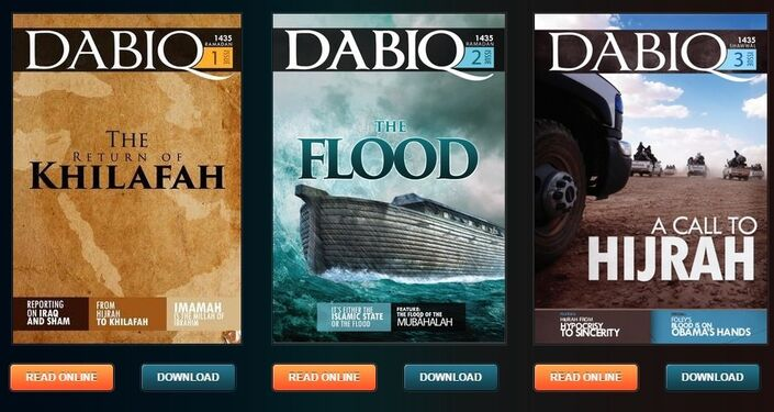 Dabiq, la rivista di propaganda dell'ISIS
