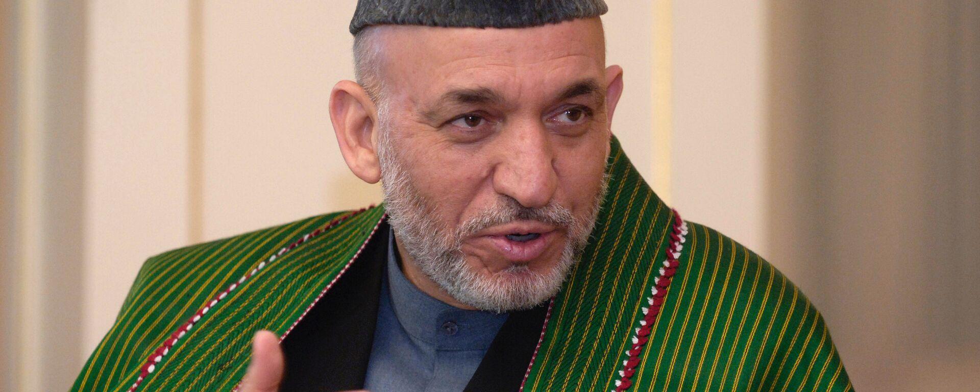 Ex presidente Afghanistan Hamid Karzai - Sputnik Italia, 1920, 26.08.2021