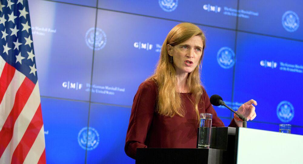 Rappresentante USA presso ONU Samantha Power