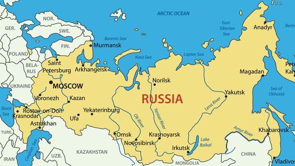 Mappa della Russia - Sputnik Italia