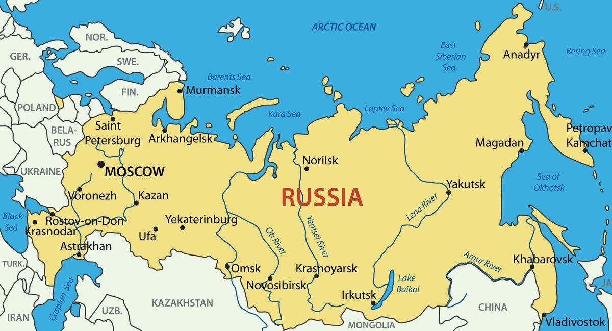 Cartina Politica Della Russia Europea.10 Cose Che Conviene Sapere Sulla Federazione Russa Sputnik Italia