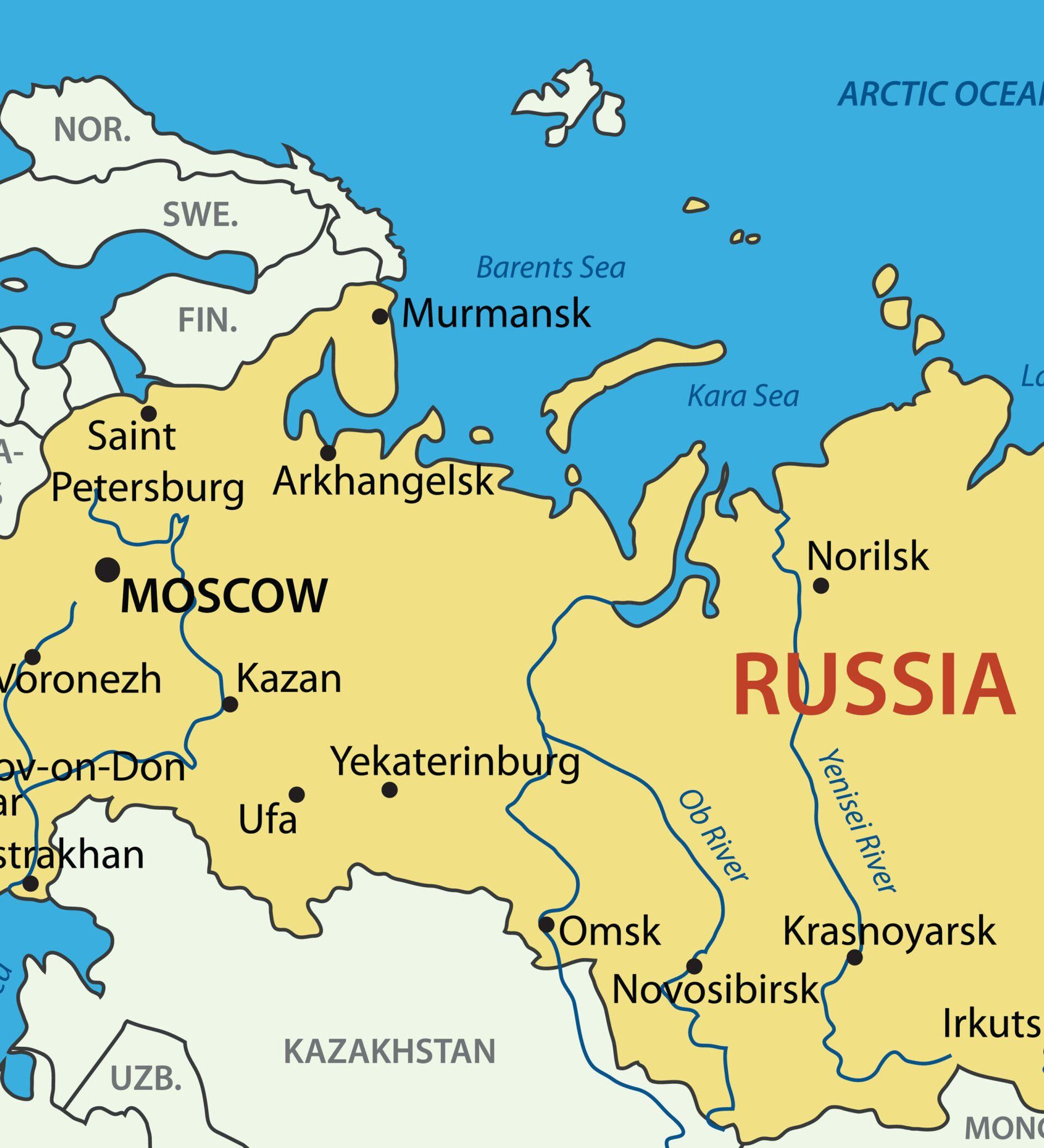 Cartina Geografica Russia Ucraina.10 Cose Che Conviene Sapere Sulla Federazione Russa 12 06 2015 Sputnik Italia