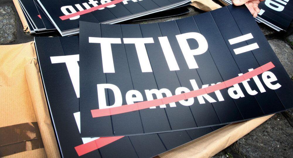 Cartelloni anti-TTIP in Germania