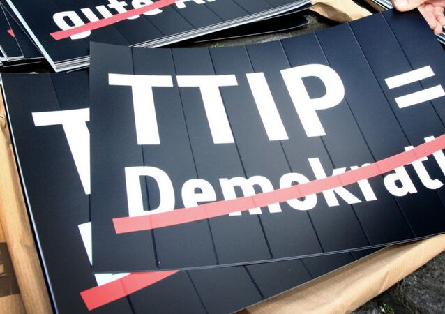 Cartello anti-TTIP