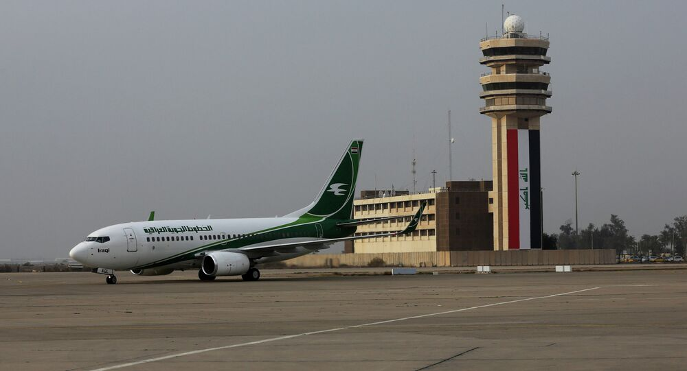 Un aeroporto in Iraq
