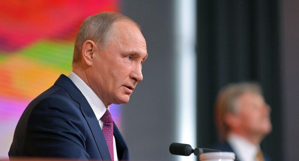 La grande conferenza stampa di Vladimir Putin