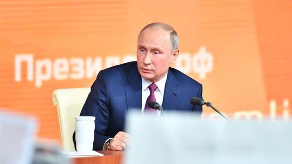 La grande conferenza stampa di Vladimir Putin - Sputnik Italia