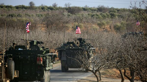 Le forze militari USA in Siria. (Foto d'archivio) - Sputnik Italia