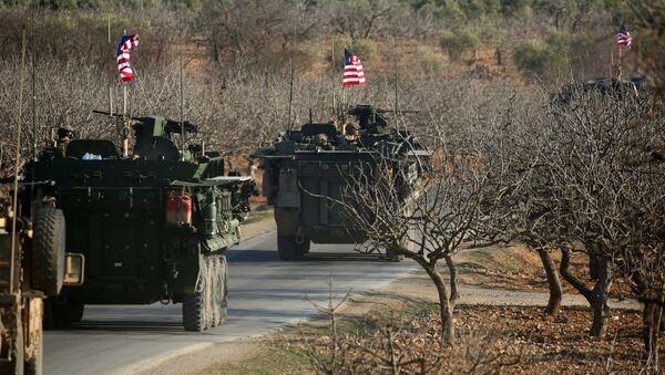 Le forze militari USA in Siria. - Sputnik Italia