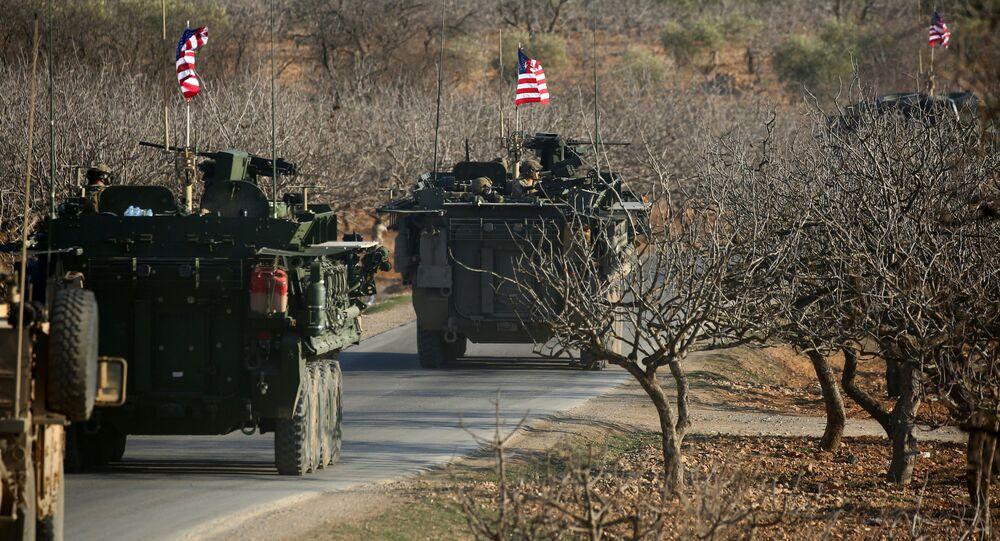 Le forze militari USA in Siria. (Foto d'archivio)