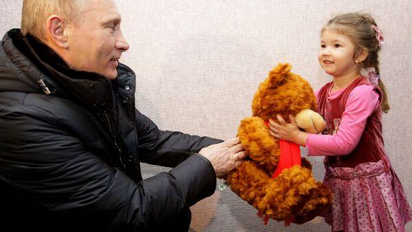 Un regalo da Putin - Sputnik Italia