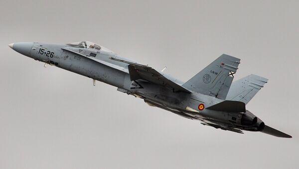 Caccia F-18 Hornet dell'Aviazione finlandese - Sputnik Italia