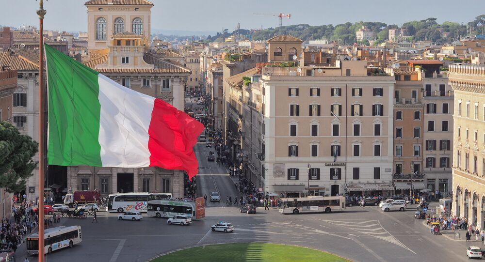 Roma, bandiera italiana