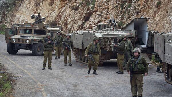Soldati israeliani al confine tra Libano e Israele. - Sputnik Italia