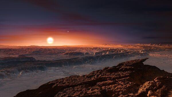 An Artist's Rendering Of The Planet Orbiting Proxima Centrauri - Sputnik Italia