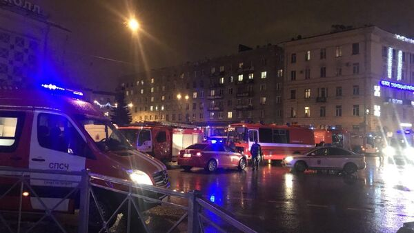 Explosion in a shop in the Russian city of St. Petersburg on December 27, 2017 - Sputnik Italia