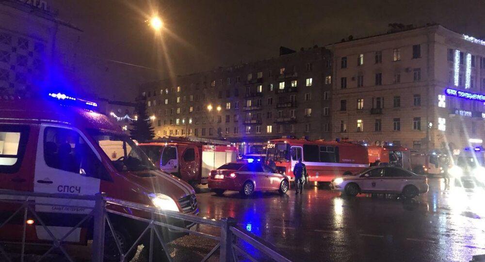 Esplosione in un negozio a San Pietroburgo