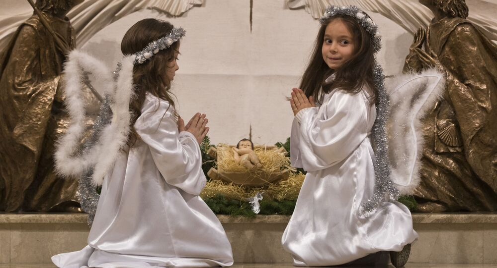 Preghiera dei bambini a Natale