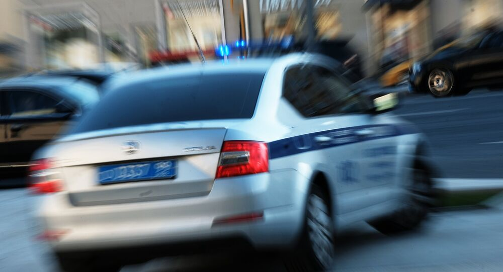 Polizia stradale a Mosca