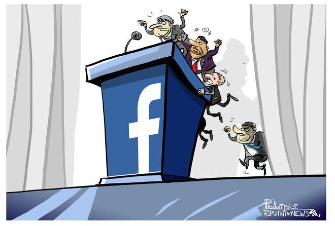 La trasformazione di Facebook da social network a tribuna politica.