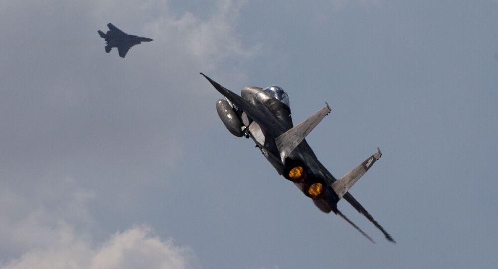 Cacciabombardieri israeliani F-15