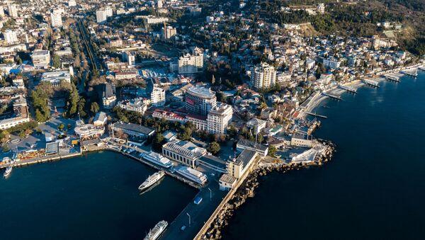 Una veduta su Yalta - Sputnik Italia