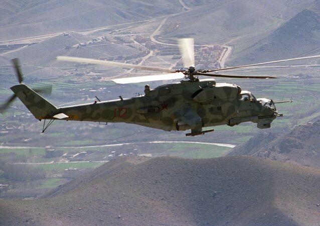 Il leggendario elicottero Mi-24