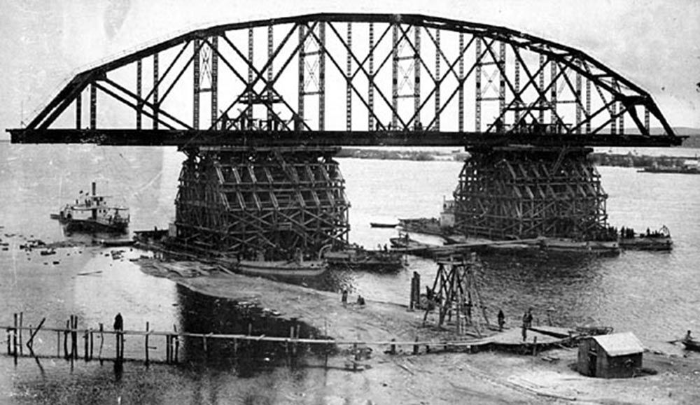 La costruzione della Transiberiana nelle foto d'archivio