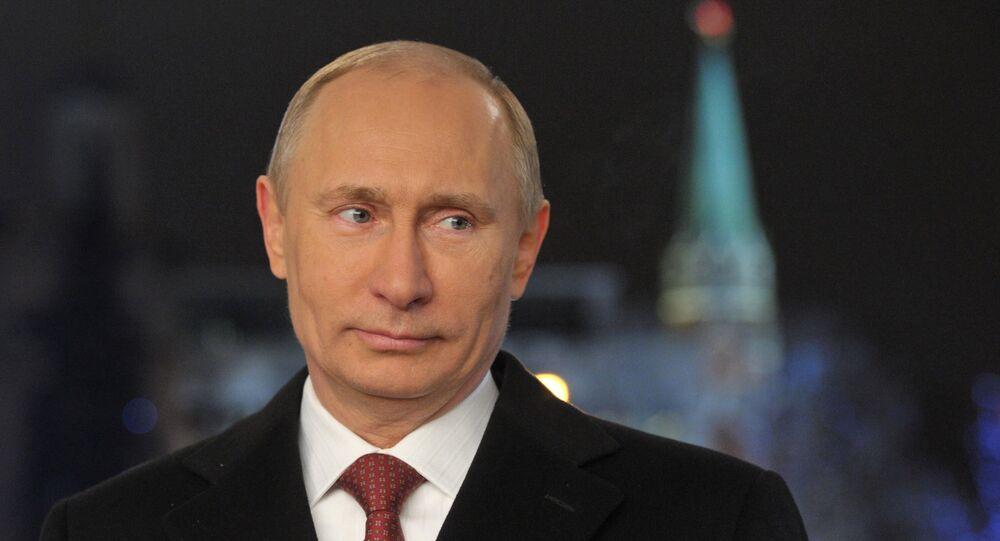 Il presidente Putin pronuncia il discorso di fine anno