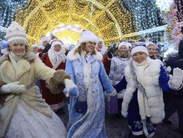 Fanciulle di neve da tutto il mondo. - Sputnik Italia