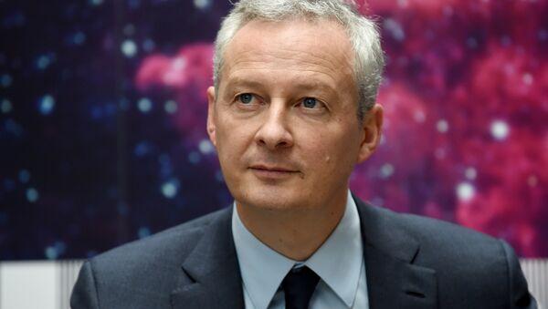 Bruno Le Maire, il ministro dell'Economia francese - Sputnik Italia