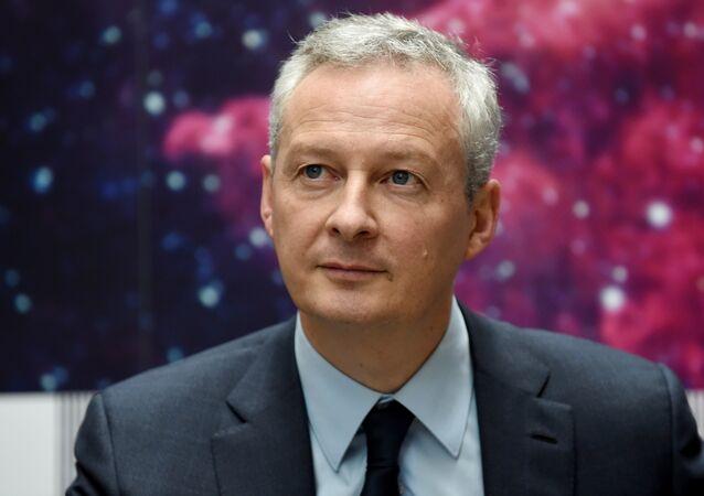 Bruno Le Maire, il ministro dell'Economia francese