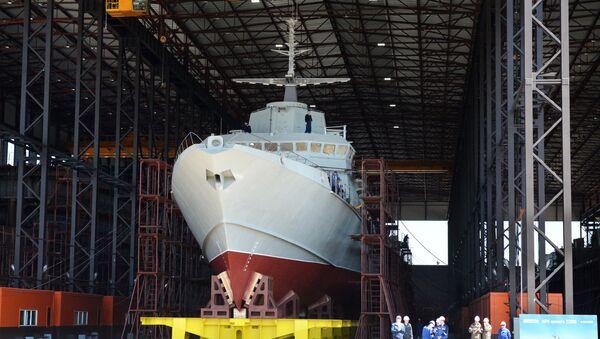 La piccola nave missilistica del progetto 22800 Karakurt - Sputnik Italia